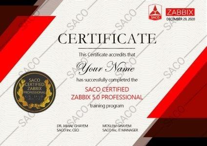 CERTIFIED ZABBIX 5.0 PROFESSIONAL